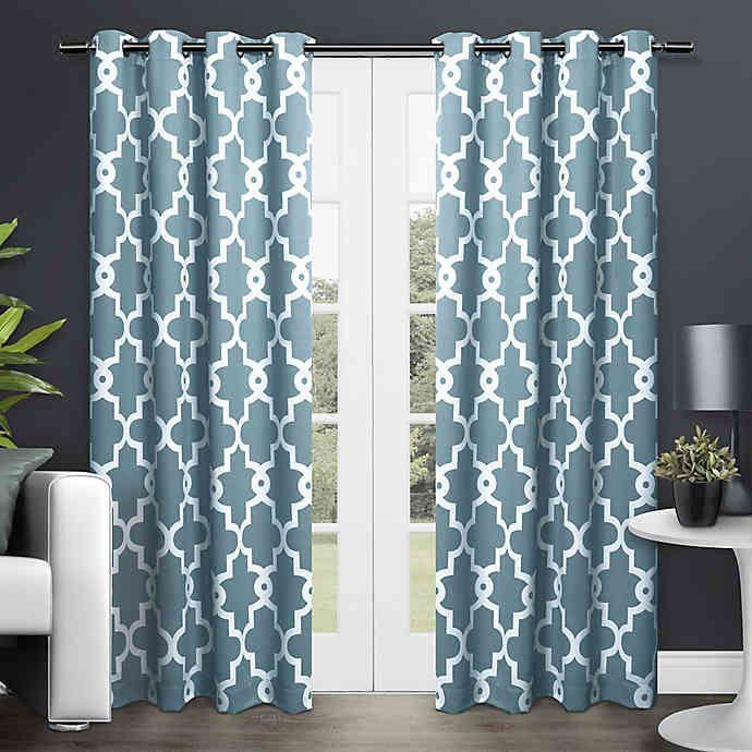 f4b401827dbba82a669cb06c79f02af4 - Better Homes And Gardens Basketweave Curtain Panel Aqua