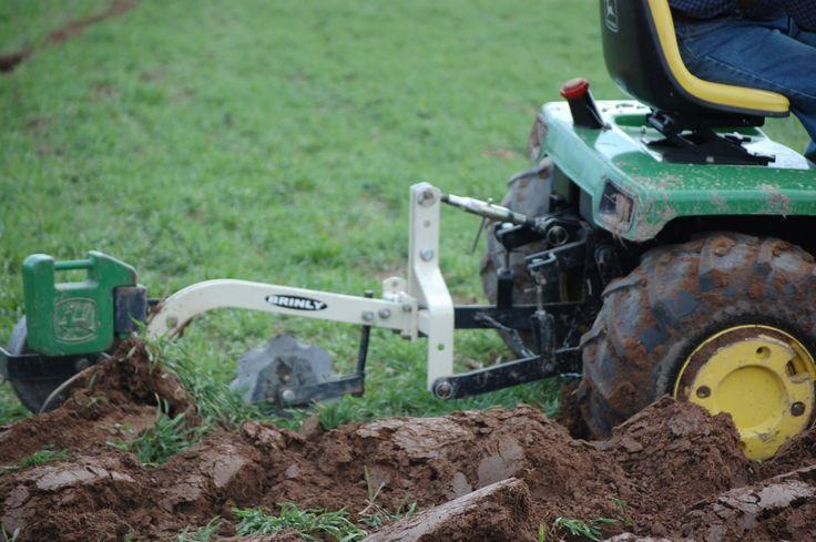 Garden Tractor Garden Plow : Best images about john deere on pinterest gardens