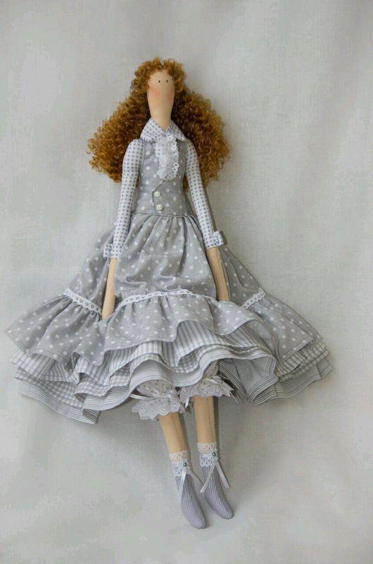 Куклы Тильды ручной работы. Алиса. INIcrafts. Интернет-магазин Ярмарка Мастеров. Тильда кукла, tilda, волосы искусственные
