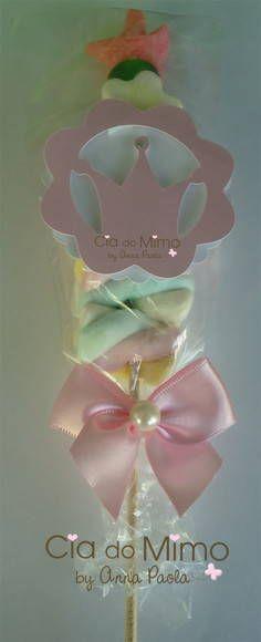 Pirulito marshmallow princess