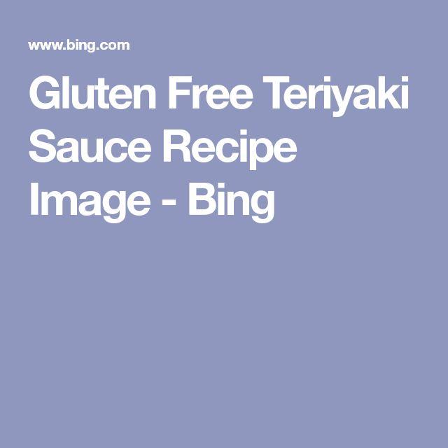 Gluten Free Teriyaki Sauce Recipe Image - Bing