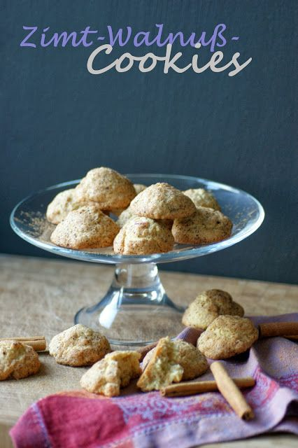 Zimt-Walnuß-Cookies Cinnamon-Walnut-Cookies