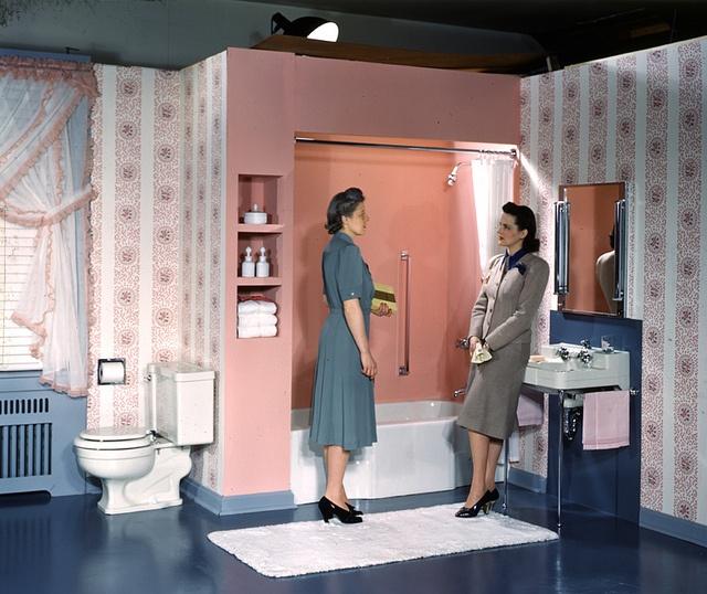 176 Best Images About Pink Bathroom On Pinterest Vintage