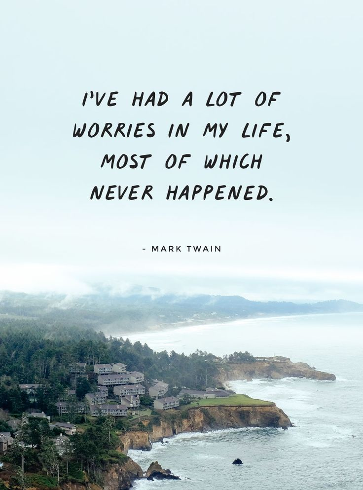 Managing Stress & Getting Perspective. How to handle stress in business and get perspective. Encouraging business post, with free inspirational quote prints. Quote from Mark Twain