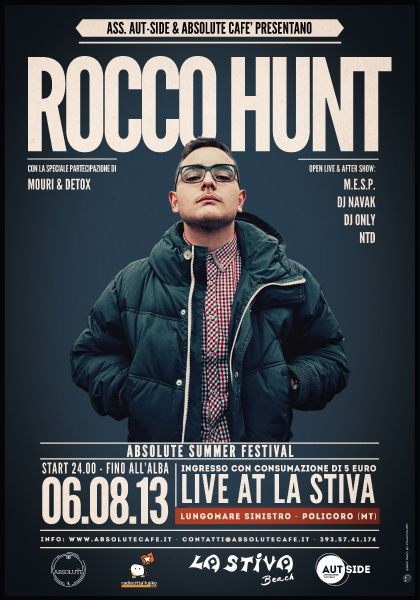 Rocco Hunt - Poster