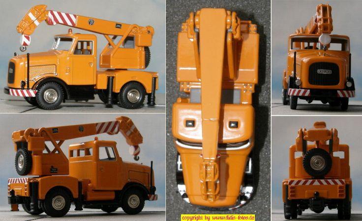 Kaelble K650 Schwerlastzug mit Miag-Kran (BUB 07075)