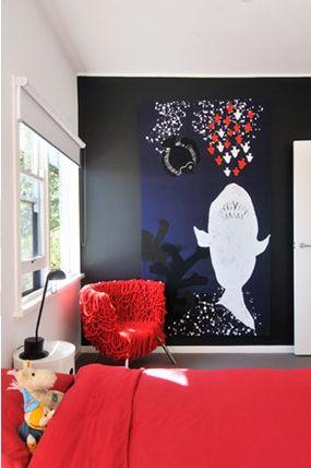 Marimekko fabric - fabulous wall art