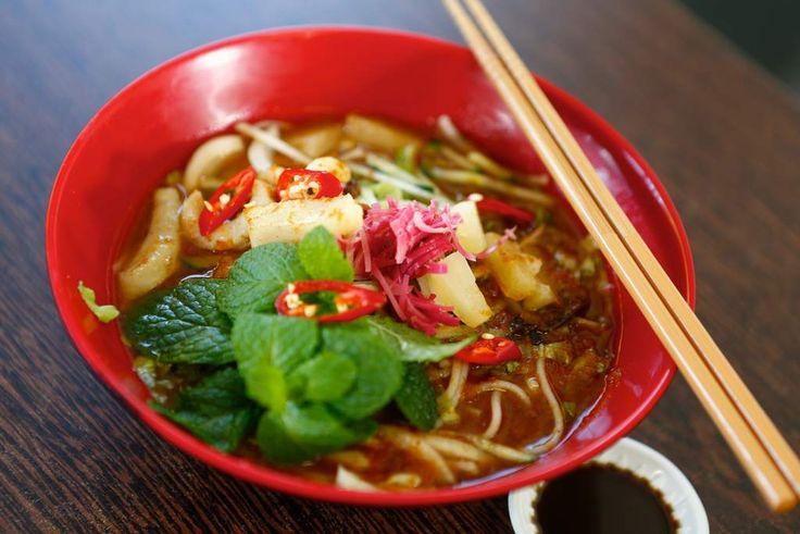 Penang assam laksa at Madam Kwong's Kitchen.