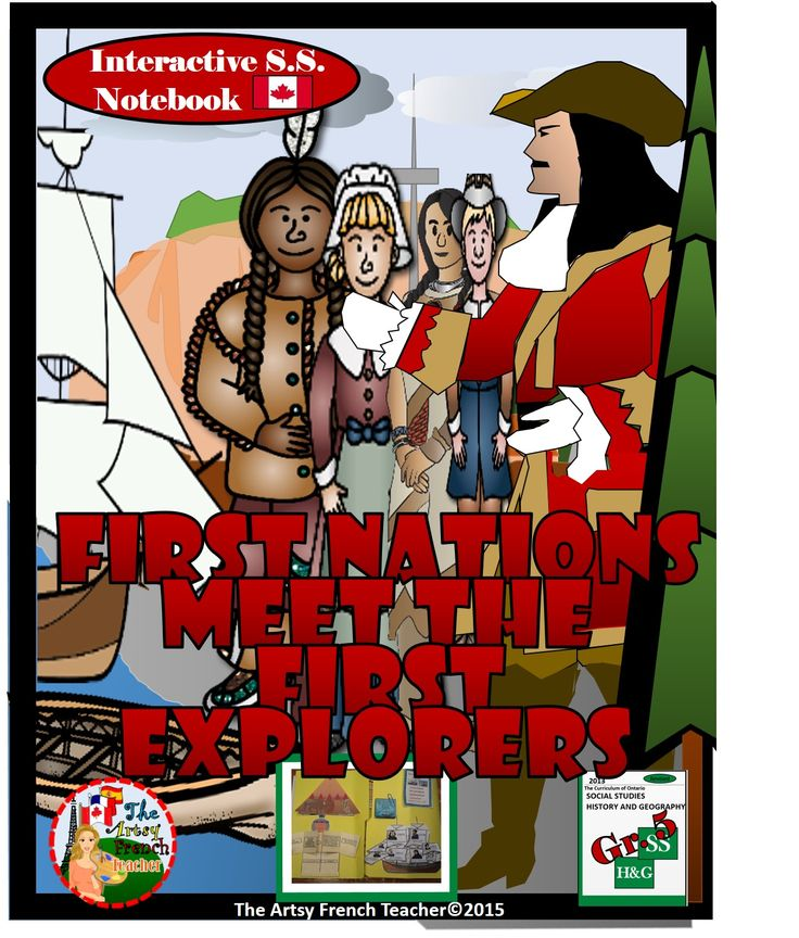 This 70 page, engaging, FIRST NATIONS MEET THE FIRST EXPLORERS (Prior to 1713) interactive notebook for the Ontario S.S.Grade 5 Curriculum from https://www.teacherspayteachers.com/Product/First-Nations-Meet-the-First-Explorers-Interactive-Gr-5-Social-Studies-Notebook-1925784 includes 22 foldable informational templates to meet the Heritage and Identity Expectations. (French version coming soon!)