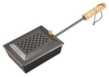 Cast-Iron Popcorn Popper - traditional - kitchen tools - Kohl's.  Perfect for camping!
