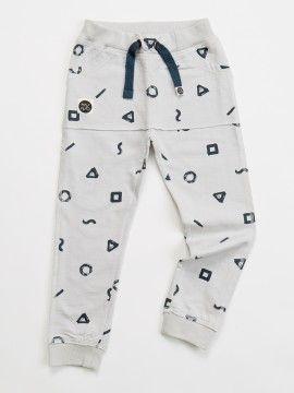 Παντελονάκι σε στυλ φόρμας από 100% οργανικό βαμβάκι! Βρείτε το: http://www.heladoderretido.com/gr/κορίτσι/μωρό-0-24-63/crayon-sweatpants.html