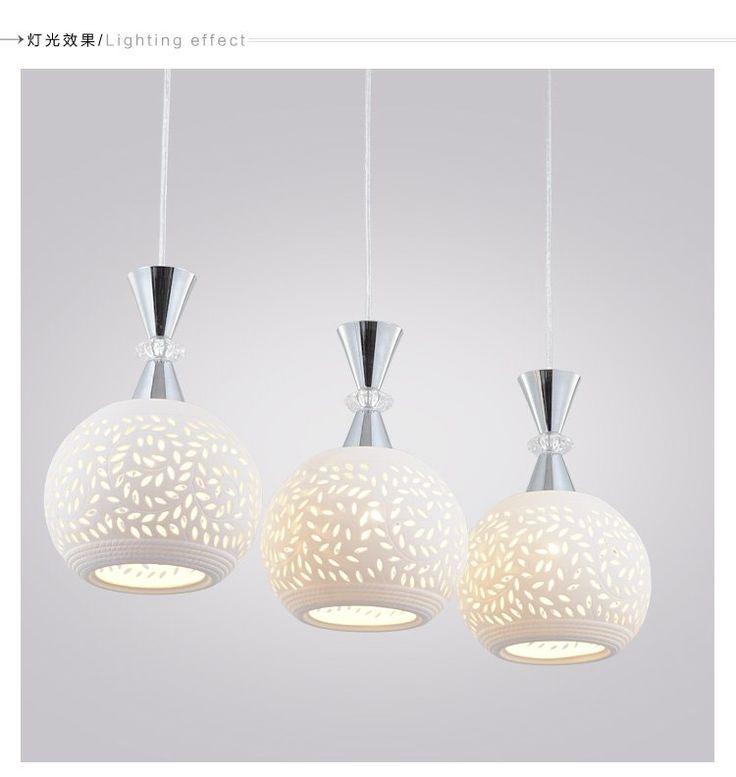Современные подвесные светильники керамические освещения ajustable до и вниз лайнер освещения висит подвесной светильник современные подвесные светильники