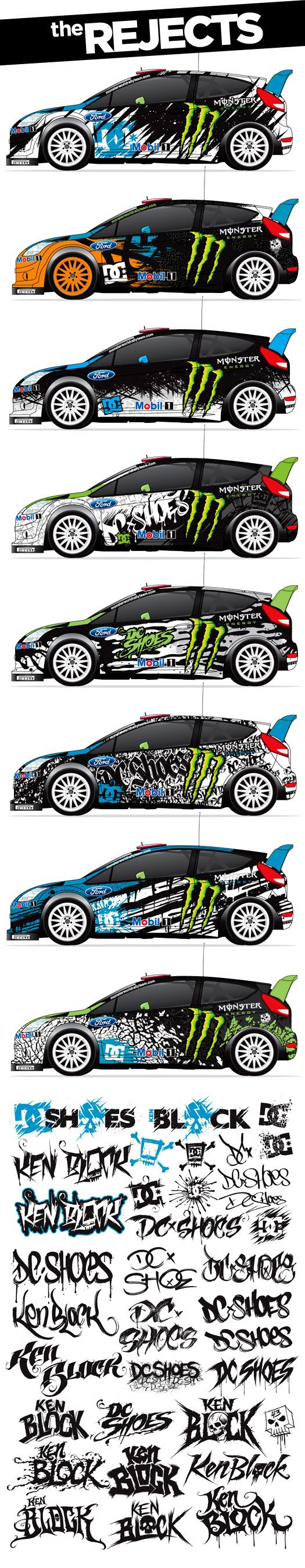 DC Shoes / Ken Block Branding & Vehicle Graphics