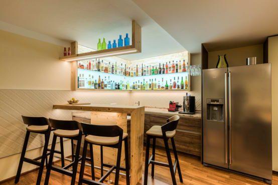 Bar im Keller einrichten  # In Szene gesetzt
