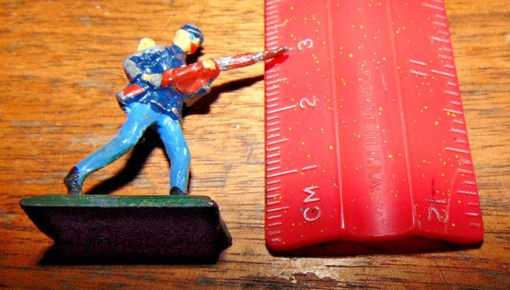 "SAE UNION OF South AFRICA LEAD ACW 1 7/16"" Union  Infantry figure DSC00027 #UNIONOFSOUTHAFRICA"