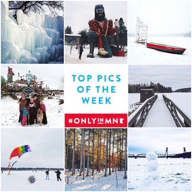 With so many events, festivals and activities you will find plenty to do this weekend. What are your plans? Share your sparkling winter scenery pictures using #OnlyinMN.