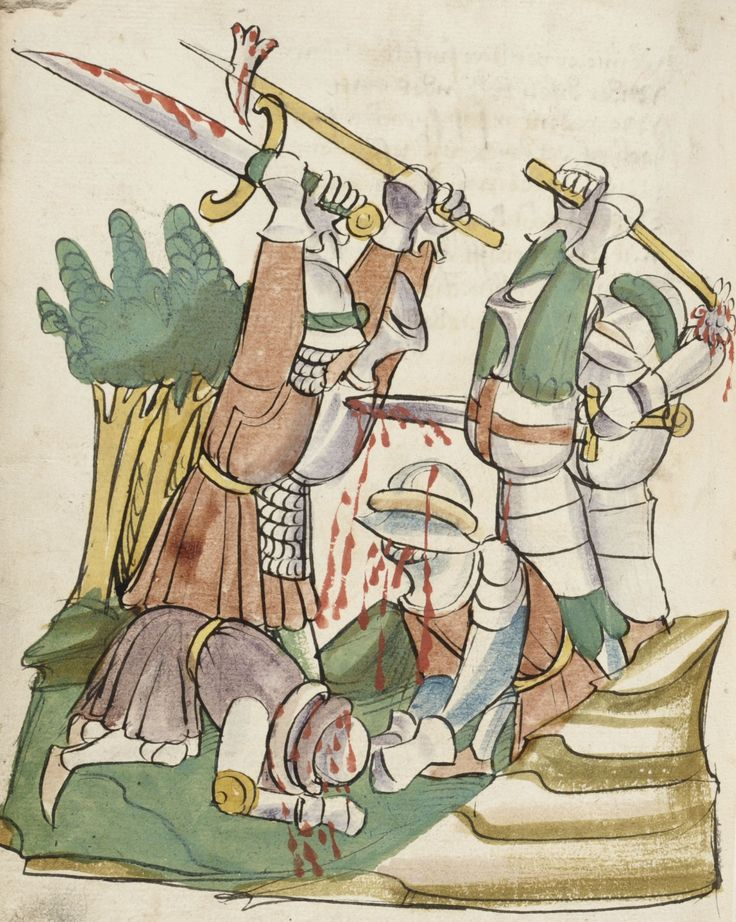 Manuscript: KBR Ms.14697 Tristan und Isolde Folio: 166v Dating: 1447-1449 From: Hagenau, France Holding Institution: Library of Belgium