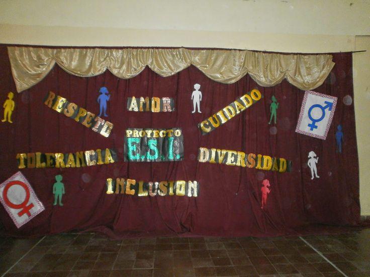 Escuela Primaria Nº290: MUESTRA DEL PROYECTO INSTITUCIONAL E.S.I