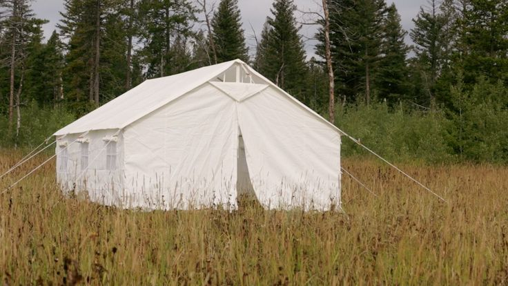 Amazon.com : 13 X 16 Canvas Wall Tent & Angle Kit : Sports & Outdoors