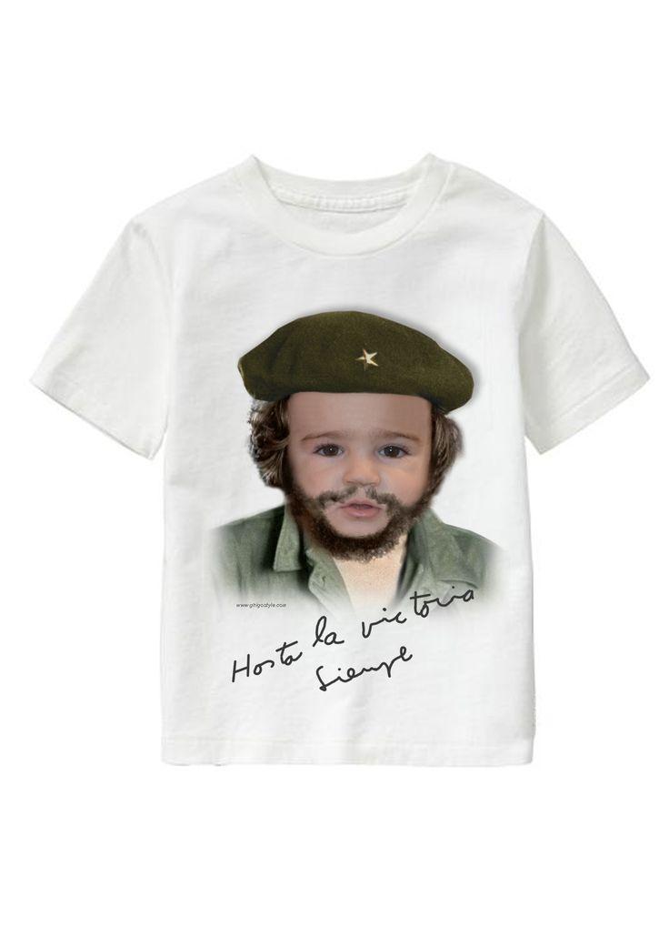 Hasta la victoria personalized T-shirt www.ghigostyle.com