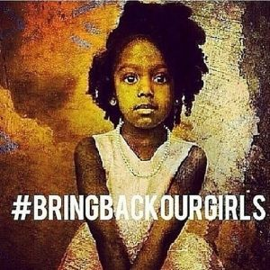 In solidarity with the hundreds of thousands of folks all over the world who are rallying and protesting TODAY to #BringBackOurGirls