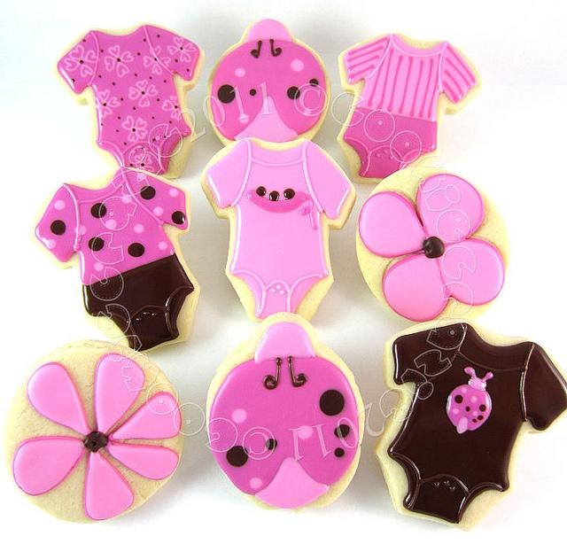Pink & Brown Ladybug Baby Shower