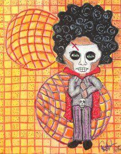 Drawing - Voodoo Man by Regina Jeffers