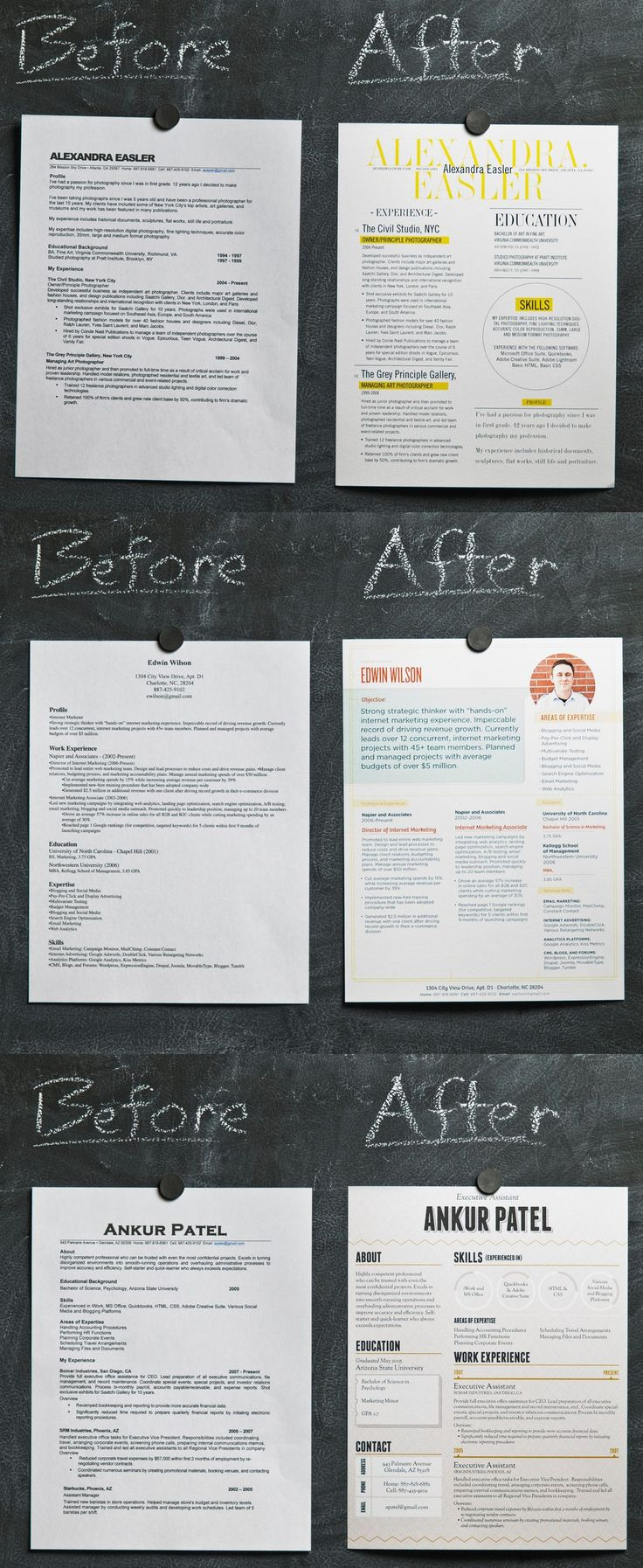 Resume tutorial. We are becoming such a visual society. Having a well designed resume will definitely make yours stand out from the others!