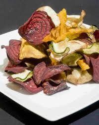 Chips de verduras, metodos de hacerlas.