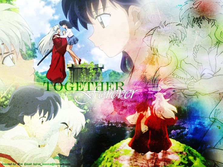 Inuyasha and Kagome | Inuyasha and Kagome - Inuyasha.:The Final ...