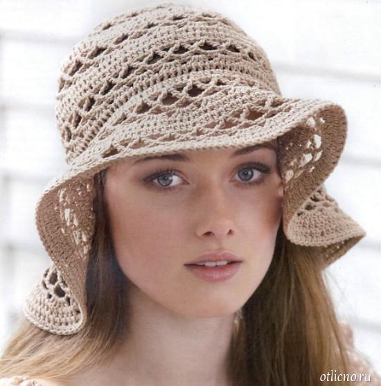 вязаная панама, панама крючком, вязание, вязание для женщин, вязание для девочек, вязание крючком, шапка,