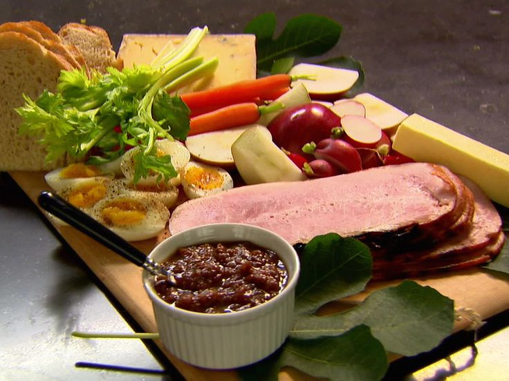 Ploughman's Lunch, Barefoot Contessa. Love the idea of simple things making a satisfying (and easy) lunch.