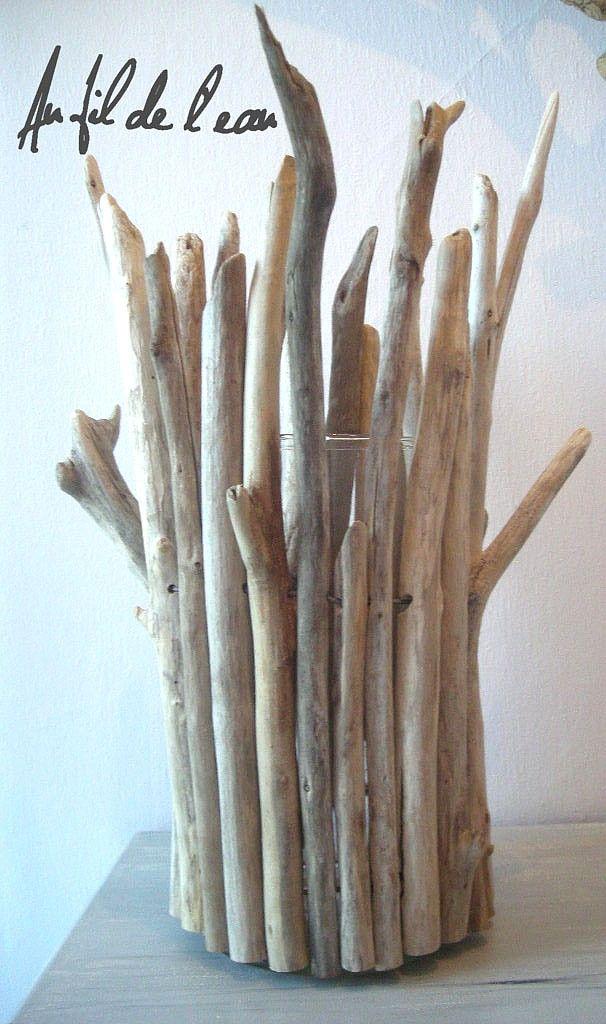 Vaseboisflottebis tuto bois flotte pinterest vase et for Vase avec bois flotte