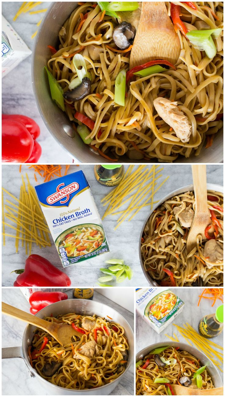 One-Pot Lo Mein Recipe