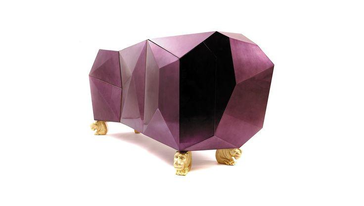 Finds: Boca do Lobo Diamond Sideboard - http://africanluxurymag.com/finds-boca-lobo-diamond-sideboard/ www.bocadolobo.com