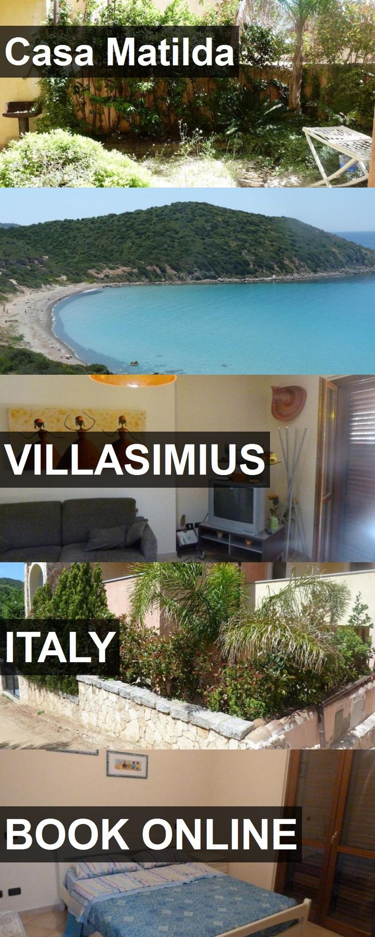 Hotel Casa Matilda in Villasimius, Italy. For more information, photos, reviews and best prices please follow the link. #Italy #Villasimius #travel #vacation #hotel