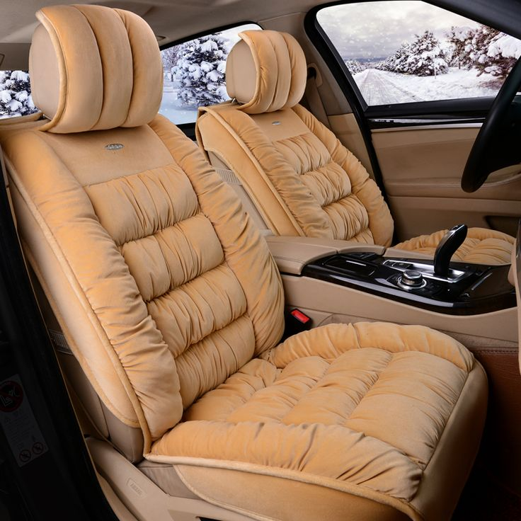 Thermal NonSlip Cushion Seat Cover Winter Seat Mats For