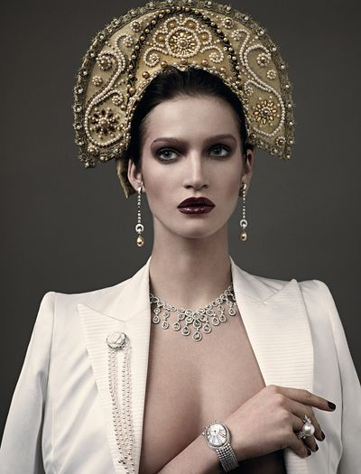 Vogue Russia April 2011, photo: Mariano Vivanco, style: Katerina Mukhina