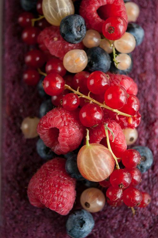 Basil Summer Berry Pudding