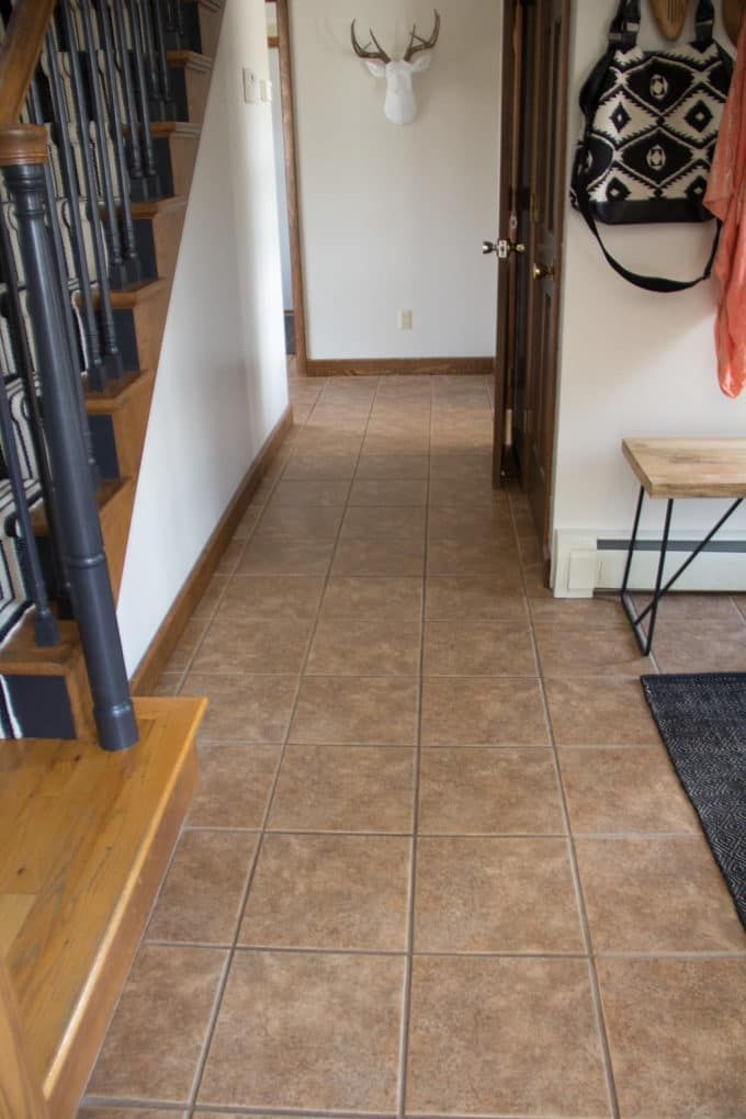 Faux Cement Tile Painted Floors Painting Floor And Wall Tiles