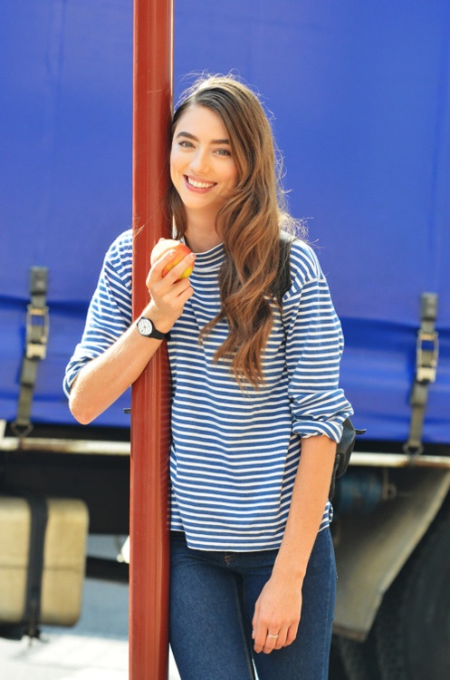 :)Http Tommyton Tumblr Com, Fashion, Stripes Iii, Well Dresses Lady, Amazing Style, Perfect Undone, Eye Catchers, Tommy Ton, 497 750 Pixel