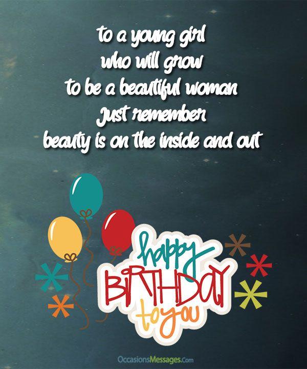 Happy birthday wishes for girls