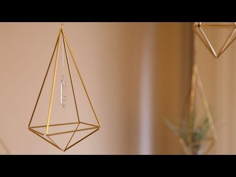Himmeli Geometric Decor ♥ DIY - YouTube