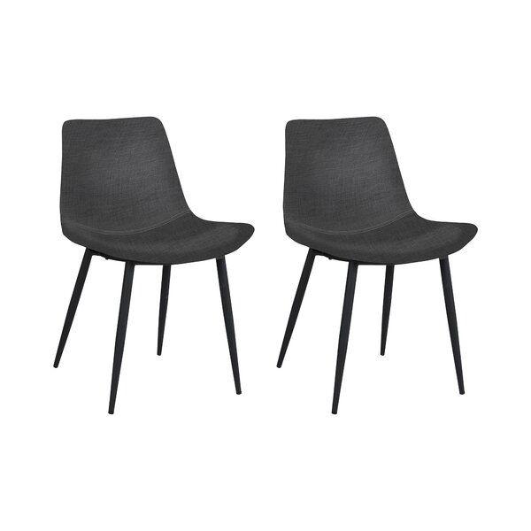 Dieses Polsterstuhl Set Weiss Mit Seinem Skandinavischem Design Zu Uberzeugen Dining Chairs Furniture Home Decor