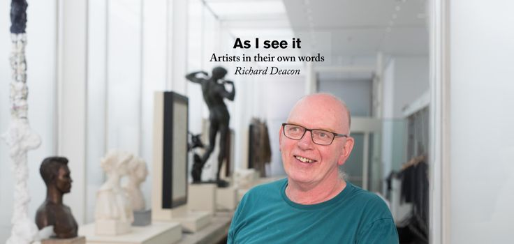 Turner Prize-winning artist Richard Deacon RA talks obsessive collecting, ambiguous titles and finding the interest in everything.