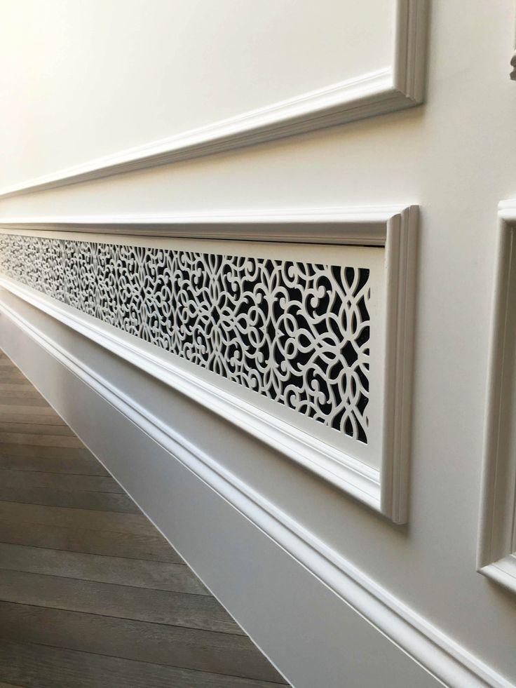 Laser cut screens belgravia london radiator and a c for Interior jali designs
