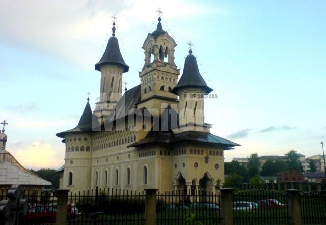 Church in Suceava, Romania