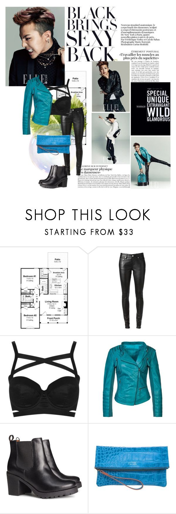 """""""I Am #210 Kwon Jiyong"""" by fyemiho ❤ liked on Polyvore featuring J.ESTINA, Yves Saint Laurent, Topshop, Cigno Nero, H&M and Loxwood"""