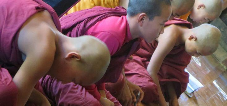 Shwe Yan Pyay Kloster – Von den Stimmen der Mönche erfüllt, Nyaung Shwe, Myanmar