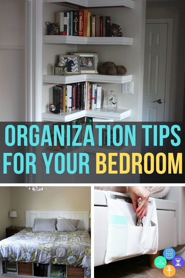 organization for your bedroom ideas to inspire a cleaner space rh pinterest com